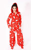fleece hoodie pajama loungewear onesie jumpsuit - Miss Jumpin
