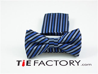 Ready Bow Tie With Matching Pocket Square