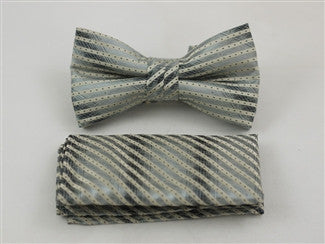 Ready Bow Tie Set WTH- 2057 - Tie Factory