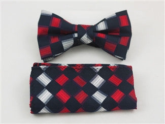 Ready Bow Tie Set WTH- 2071 - Tie Factory