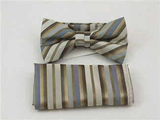 Ready Bow Tie Set WTH- 2052 - Tie Factory