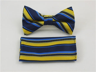 Ready Bow Tie Set WTH- 2072 - Tie Factory