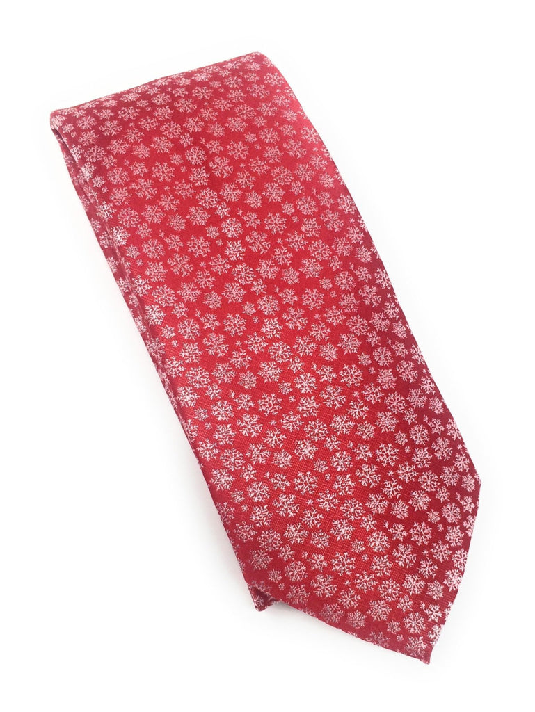Red Abstract Tie Set