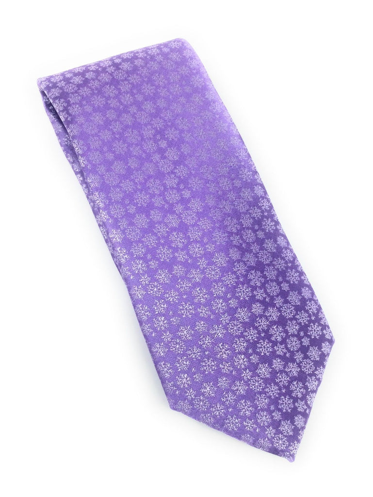 Lavender Abstract Tie Set