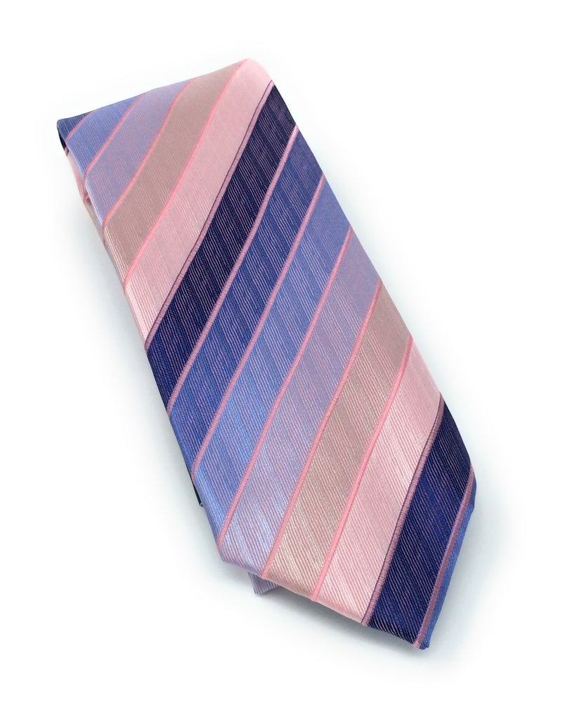 Multi Color Stripe Silk Tie