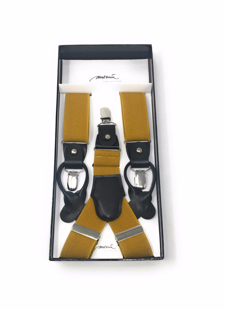 Solid Gold Suspenders