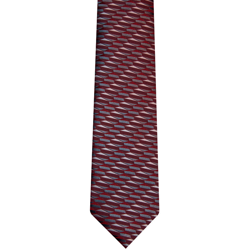 TERRA RED EXTRA LONG TIE SET