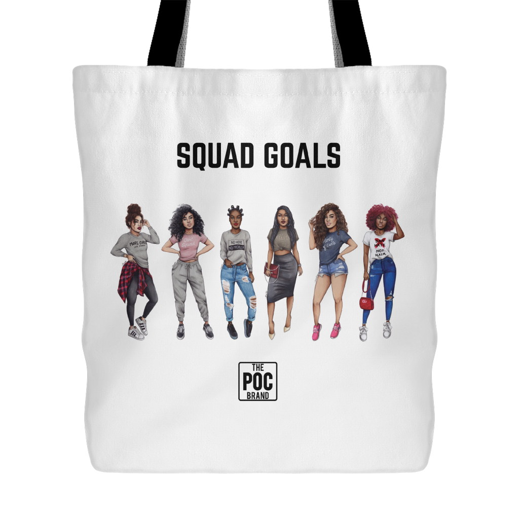 ddfb42d10f Squad Goals Tote - POC Curl Friends – thepocbrand