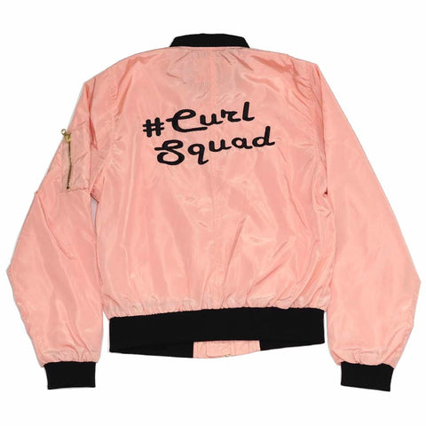 #CurlSquad Spring Bomber | The POC Brand - Black Owned Clothing