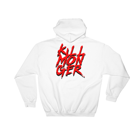 Killmonger Hoodie (White) | Black Panther | The POC Brand - Black Owned