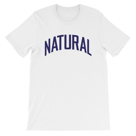 Natural Tee (White) | The POC Brand - Black Owned Clothing