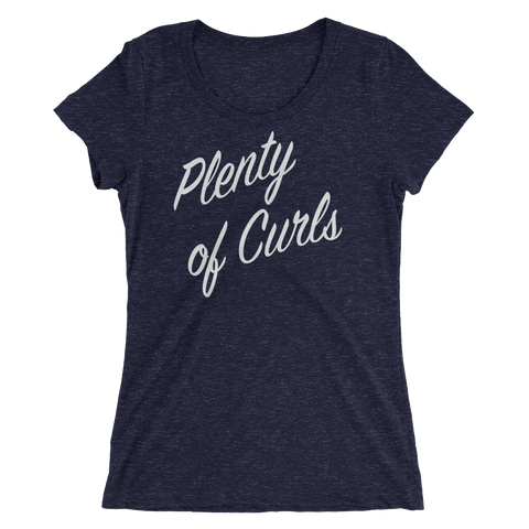 Plenty of Curls Tee (Women's) | The POC Brand - Black Owned Clothing