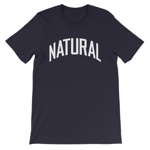 Natural Tee (Navy) | The POC Brand - Black Owned Clothing