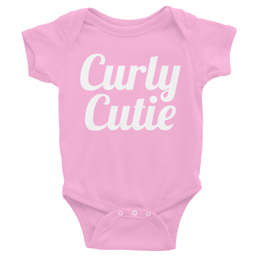 Curly Cutie Baby Onesie | The POC Brand - Black Owned Clothing