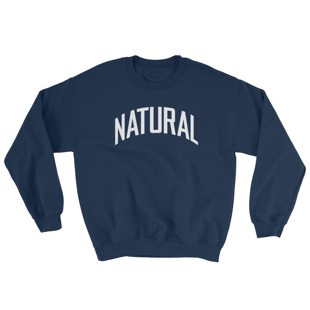 Natural Sweatshirt | The POC Brand - Black Owned Clothing
