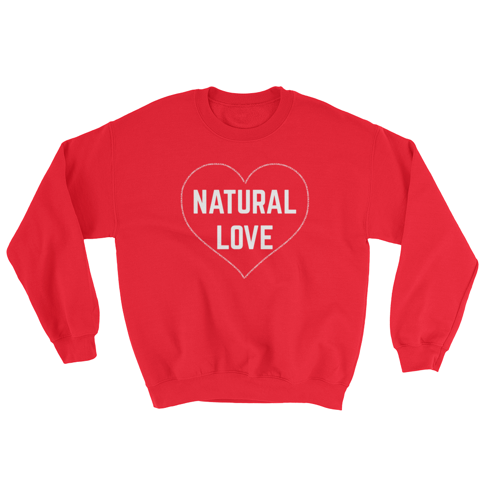 Natural Love Sweatshirt (Red)
