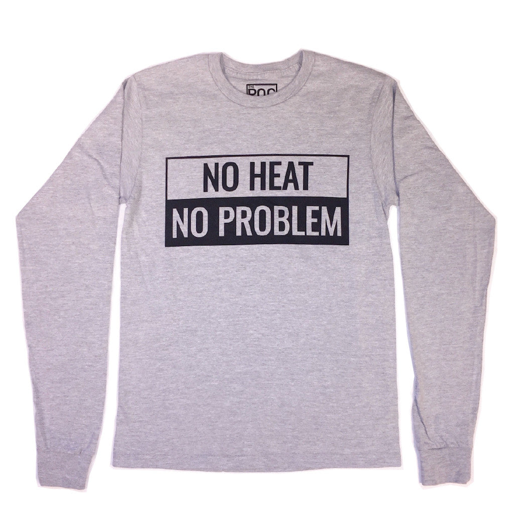 No Heat No Problem L/S Tee | The POC Brand - Black Owned Clothing