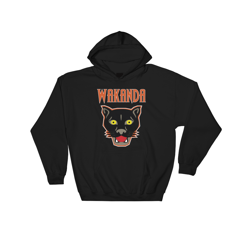 Black Panther Wakanda Hoodie | The POC Brand - Black Owned Clothing