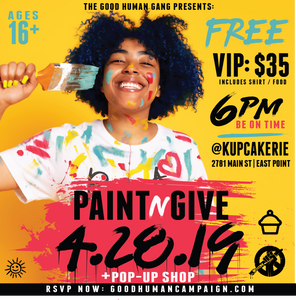 PAINT -N- GIVE: OUR SUMMER KICK OFF!