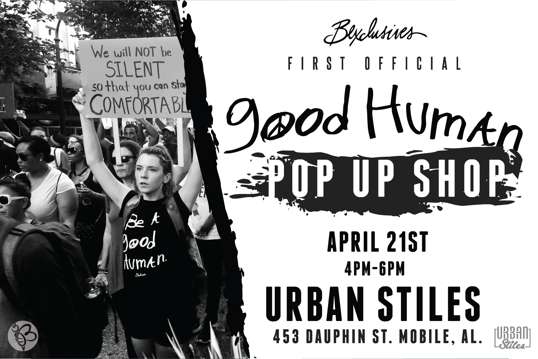 Good Human VERY FIRST pop up!!