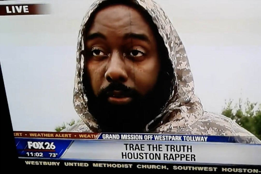 GOOD HUMAN NEWS: Trae Tha Truth Hops in a Boat to Help Victims of Hurricane Harvey in Houston