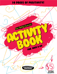GOOD HUMAN ACTIVITY BOOK (DIGITAL DOWNLOAD ONLY)