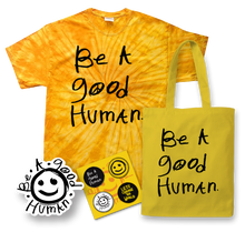 Load image into Gallery viewer, Good Human Tie Dye Gift Set (SMALL)