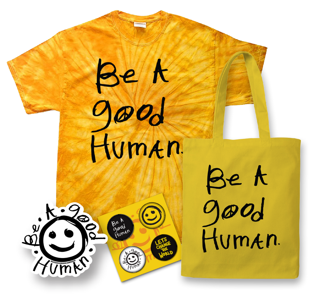Good Human Tie Dye Gift Set (SMALL)