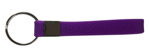 Purple Wristband Keychain