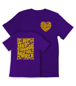 """Virgo Season"" Limited Edition Tee (PURPLE)"