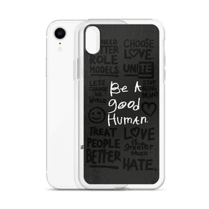GOOD HUMAN (protest edition) iPhone Case