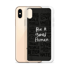 Load image into Gallery viewer, GOOD HUMAN (protest edition) iPhone Case