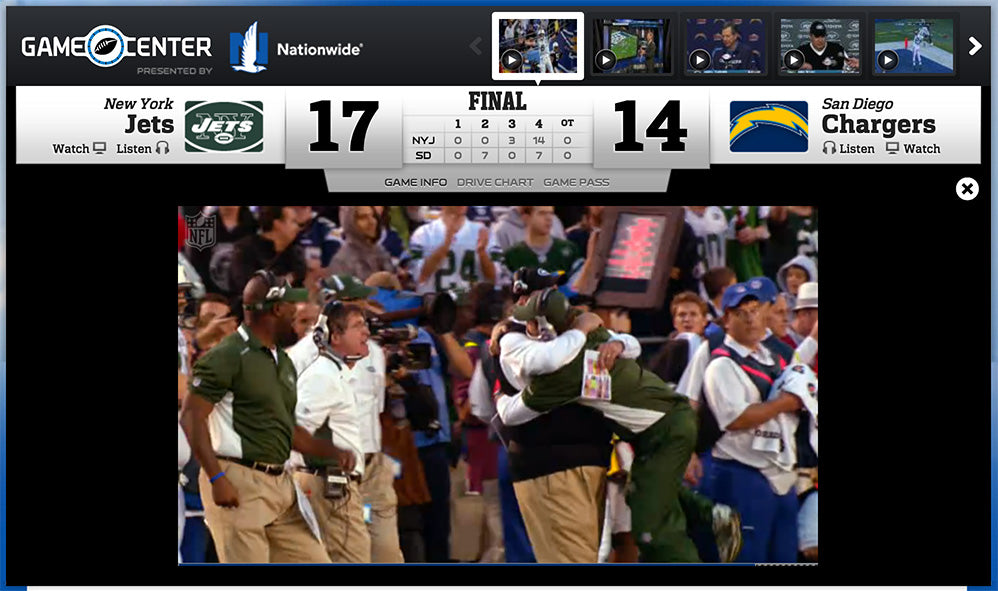 Chargers Jets Playoffs