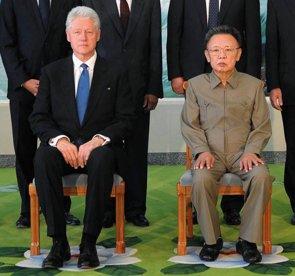 Bill Clinton North Korea