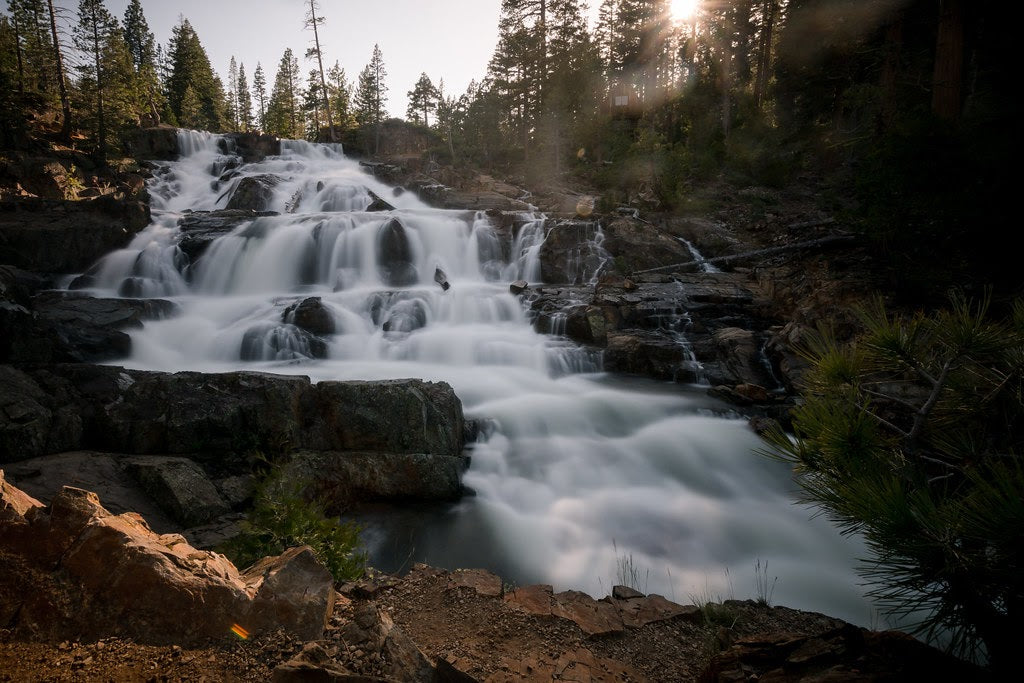 Glen Alpine Falls South Lake Tahoe
