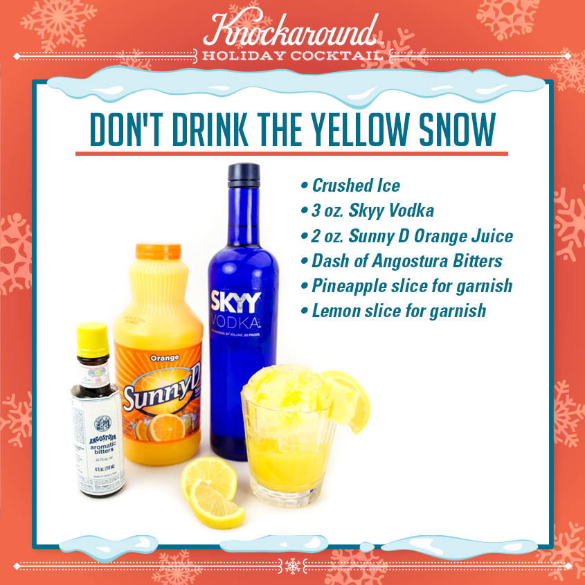 Don't Drink the Yellow Smile