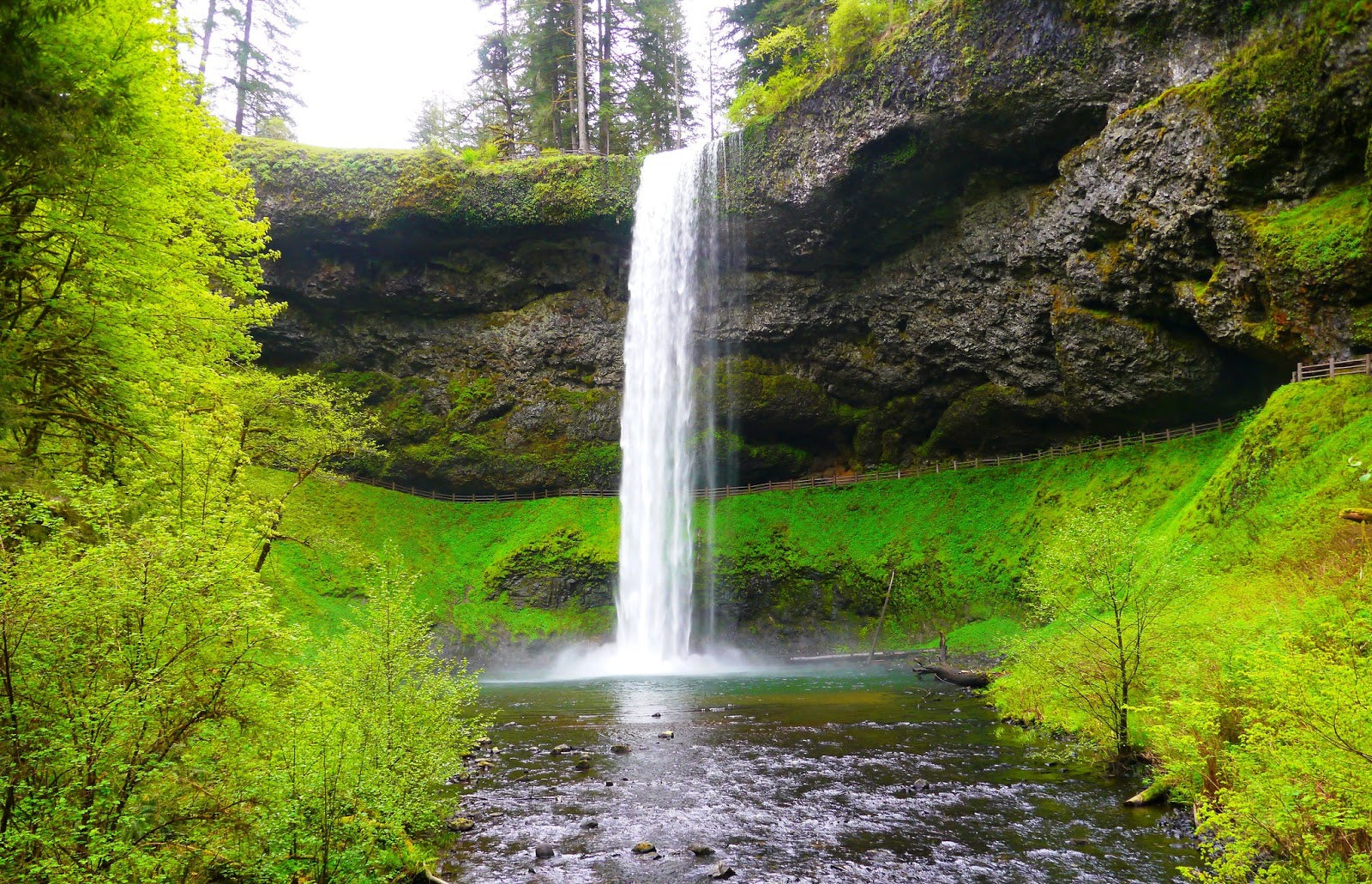 Waterfalls at Silver Falls State Park near Salem