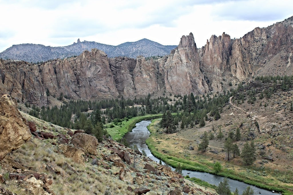 Misery Ridge at Smith Rock