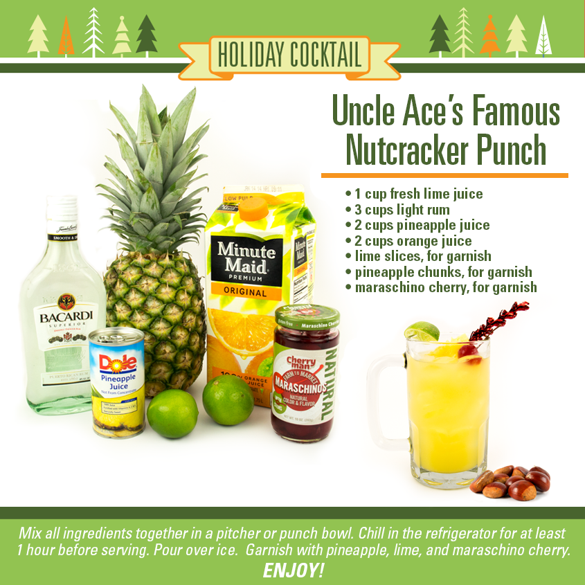 Uncle Ace's Famous Nutcracker Punch