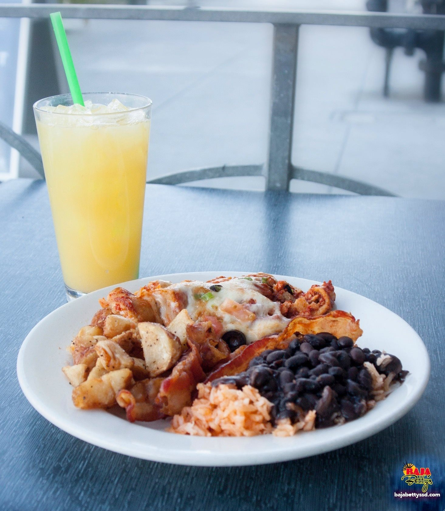 Baja Bettys in San Diego: Mexican cuisine and offers weekend brunch