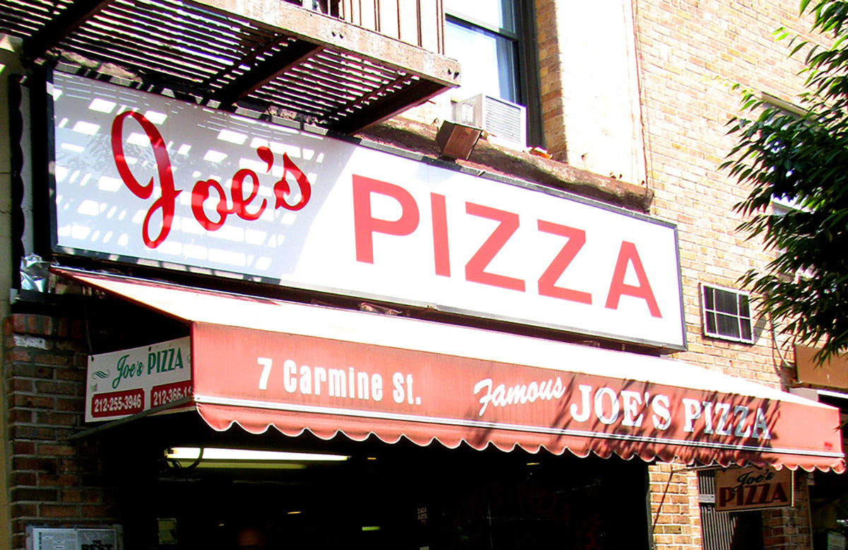 Best Authentic NYC Pizza: Joe's on Carmine St.