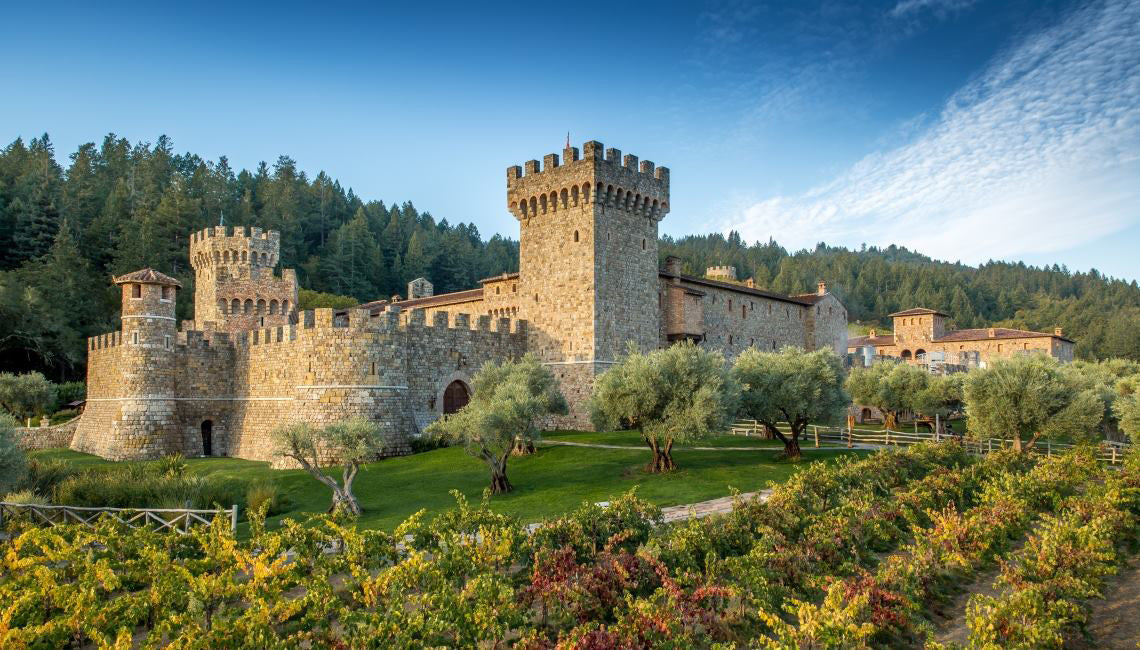 Castello di Amorosa in Napa Valley Calistoga, CA