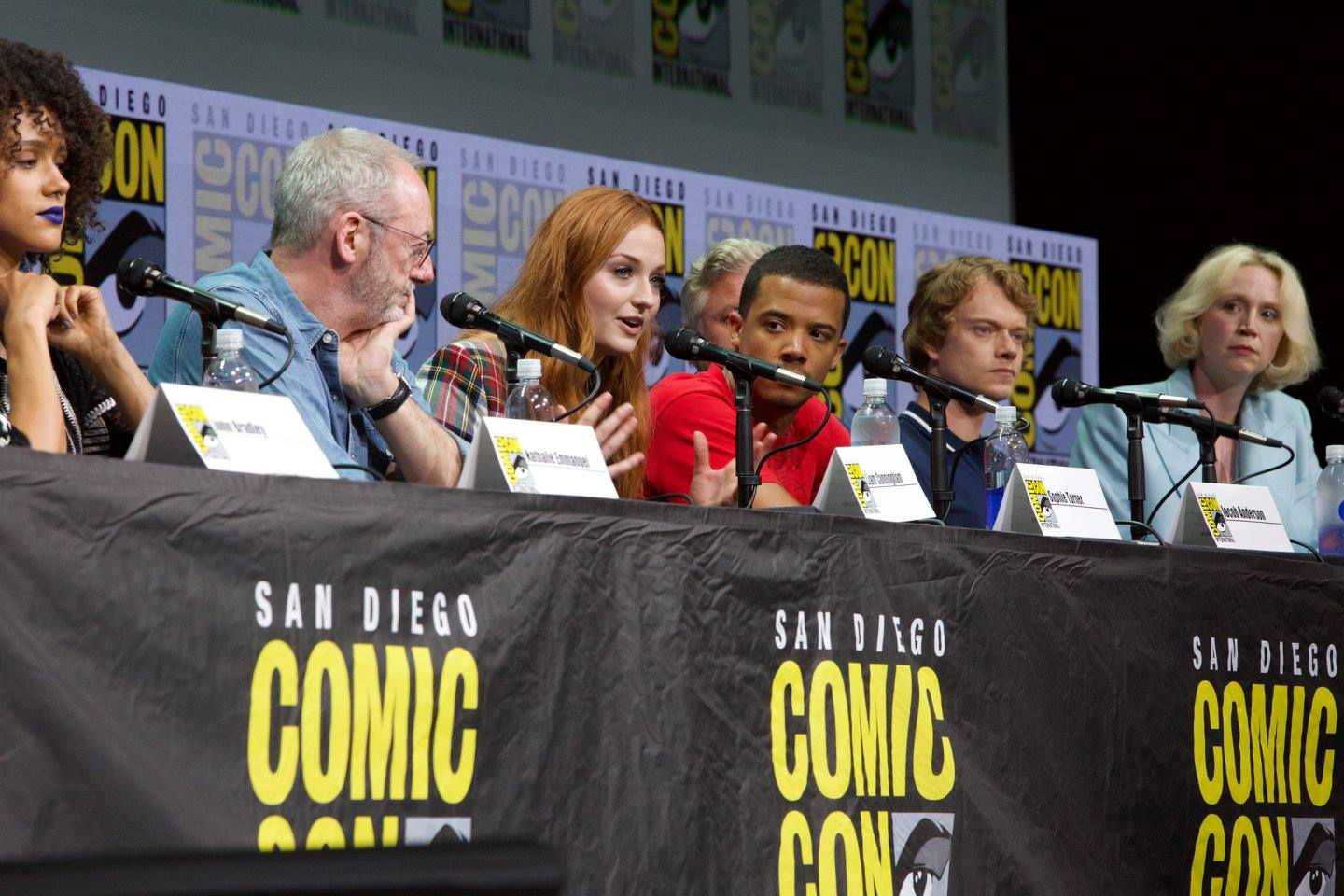 San Diego Comic Con Game Of Thrones Cast