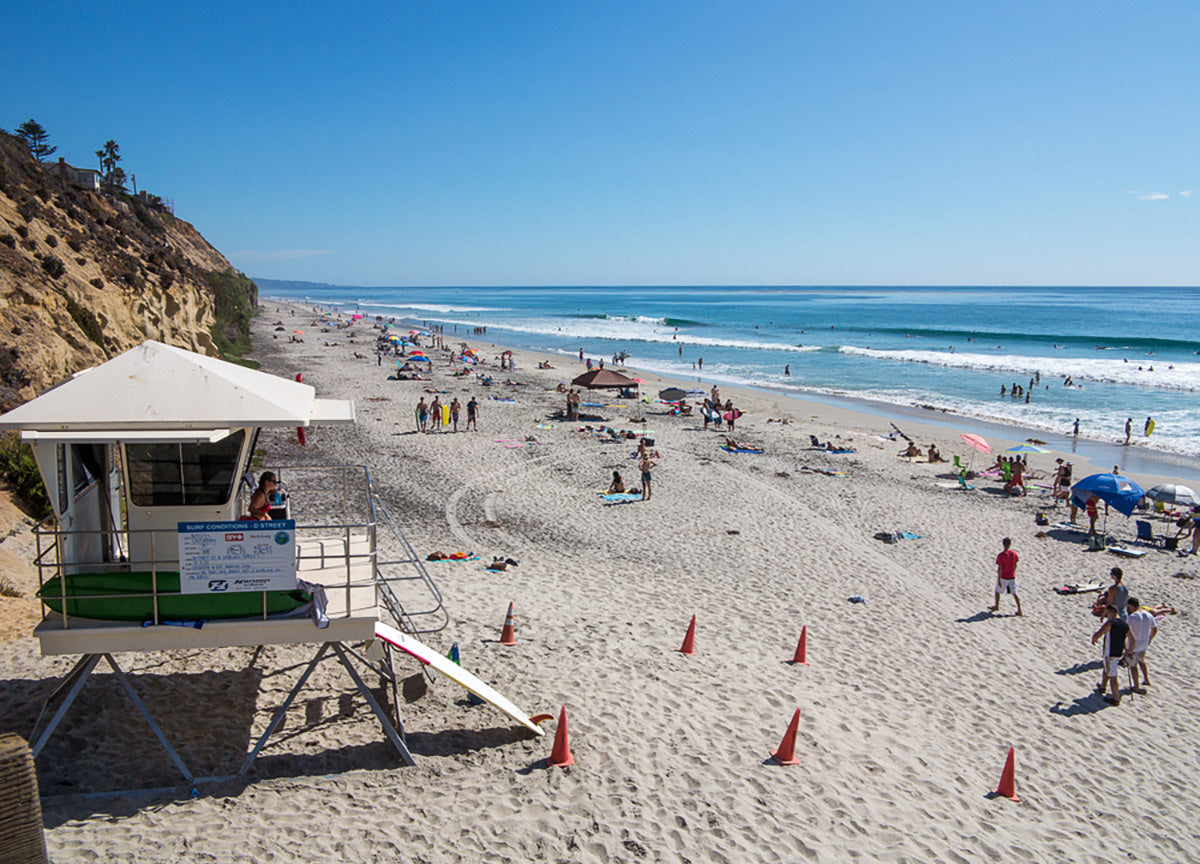 Ultimate San Diego Beach Guide: Moonlight State Beach