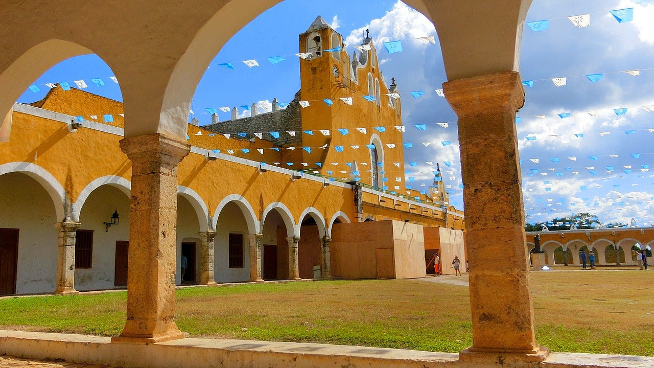 "Izamal, Mexico or commonly referred to as the ""Yellow City""."