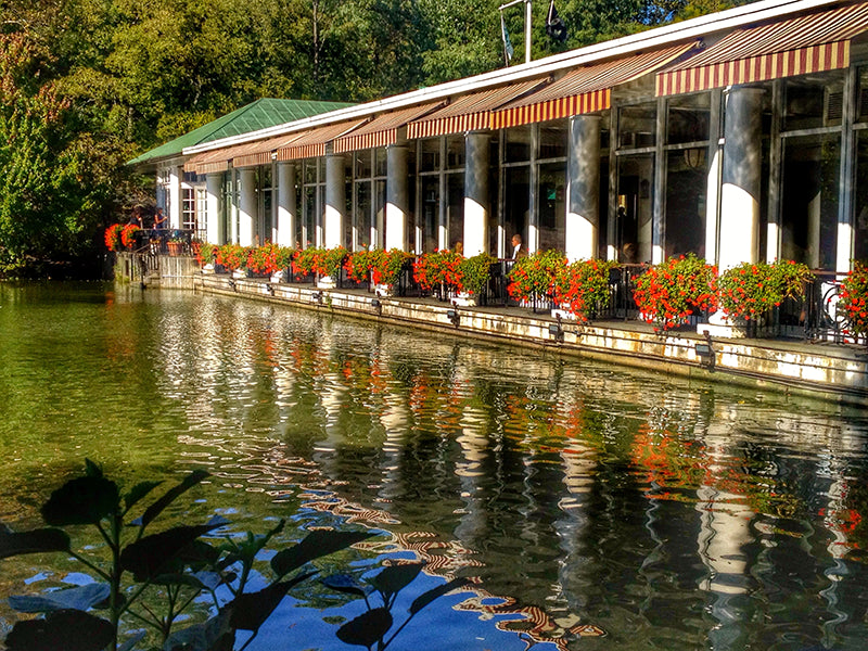 The Loeb Boathouse Central Park in New York City