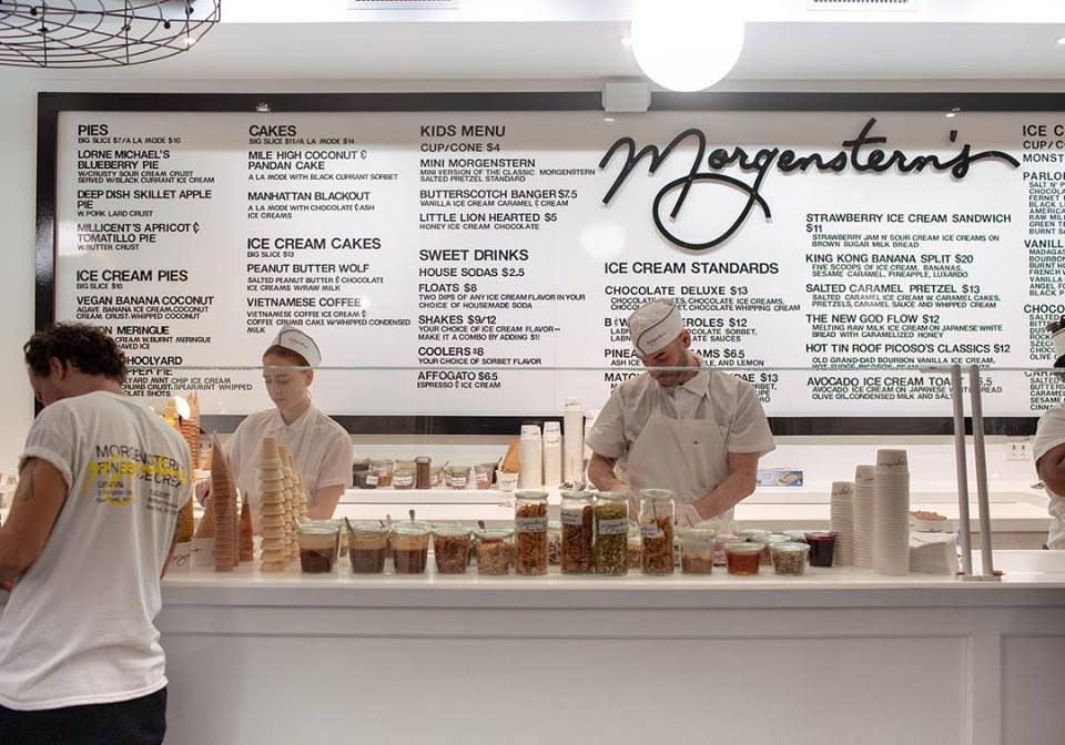 Morgenstern's Finest Ice Cream in NYC