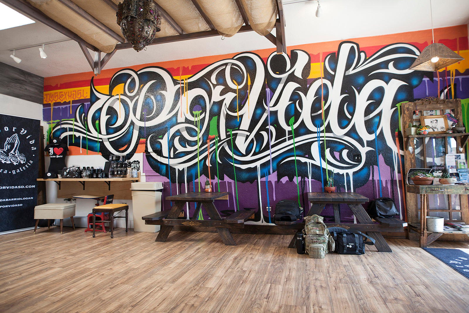 Por Vida Collective in San Diego California