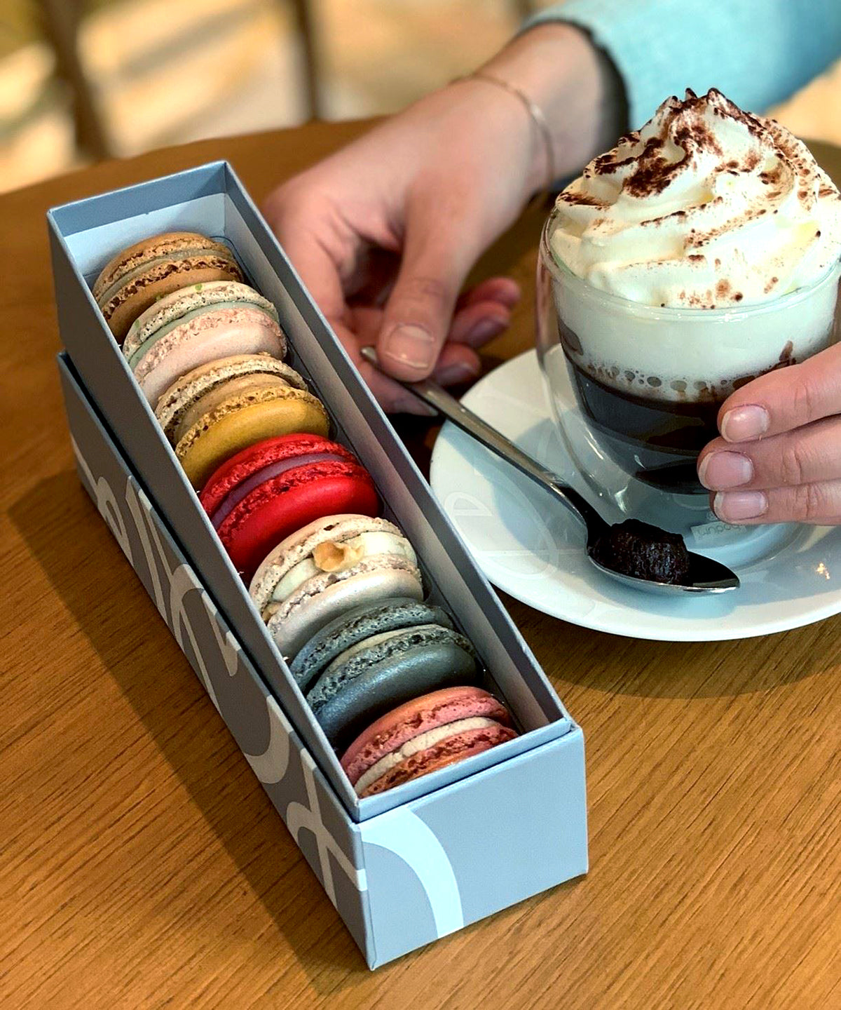Pierre Herme in Paris France macaroons