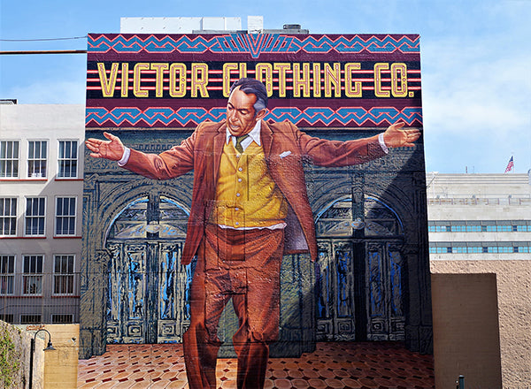 Pope of Broadway - Anthony Quinn mural